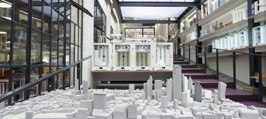 ultimaker 3d printing architectural models