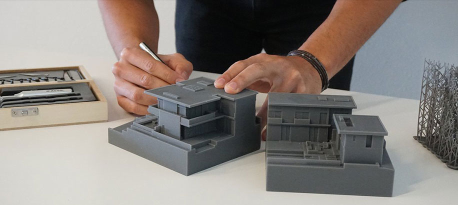 3d printing scale architectural models