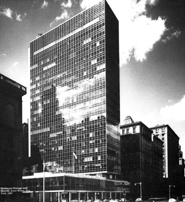 lever house in the 20th century
