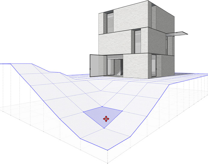 sketchup architectural model