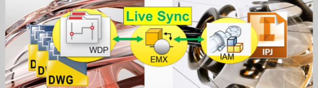 autocad and inventor live sync