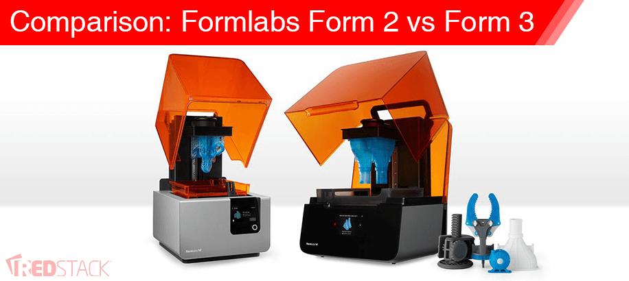Comparison: Formlabs Form 2 vs Form 3