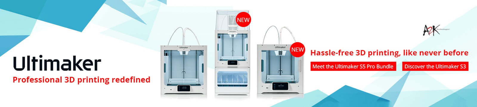 Ultimaker New Lineup