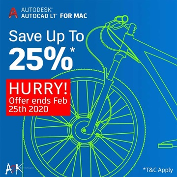 AutoCAD LT 2020 for MAC (PROMO)