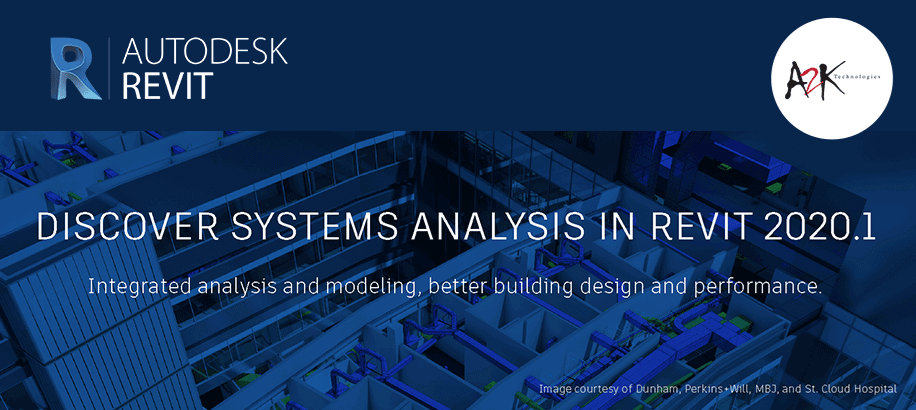 Discover Systems Analysis in Revit 2020.1