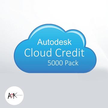 autodesk cloud credit 5000 pack