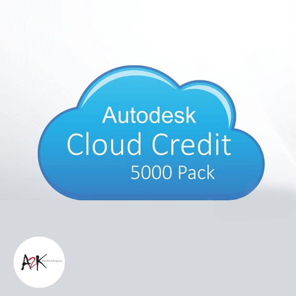 autodesk cloud credit 5000 pack