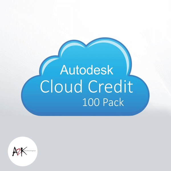 autodesk cloud credit 100 pack