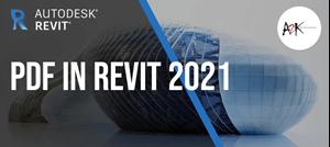 PDF in Revit 2021